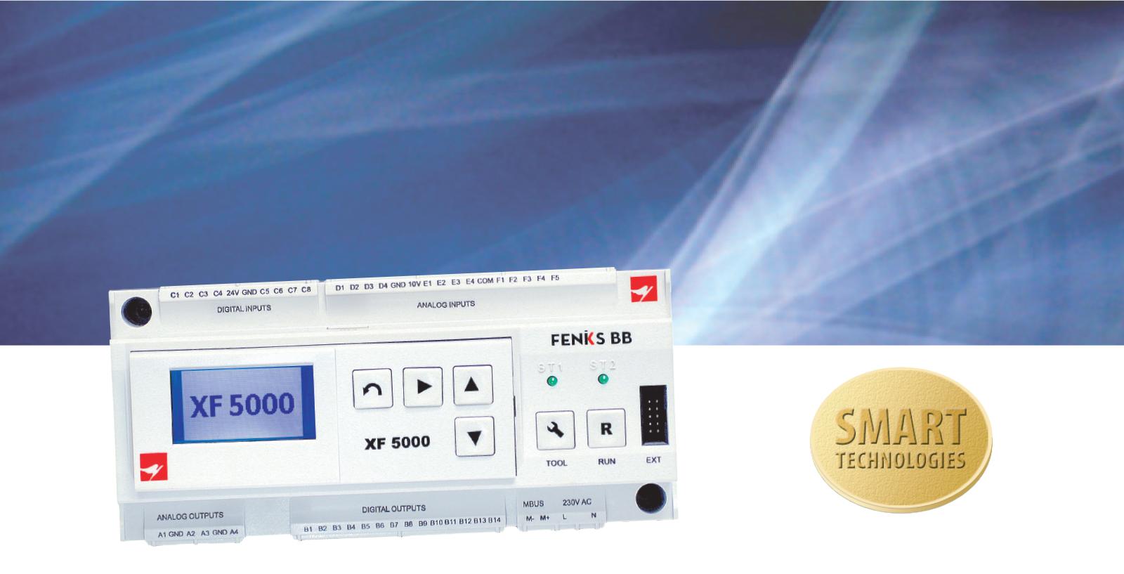 Mikroprocesorski regulator XF 5000